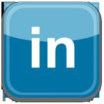 LinkedIn logo and link